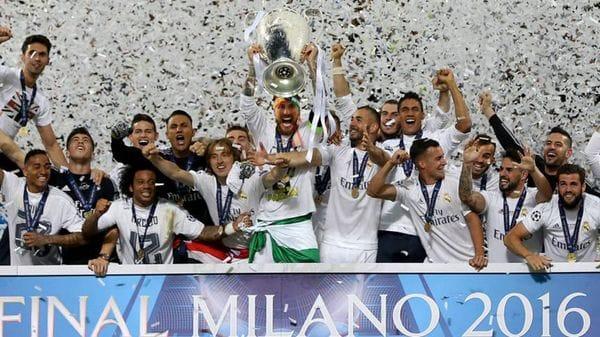 Los merengues consiguieron la Champions League en 2016