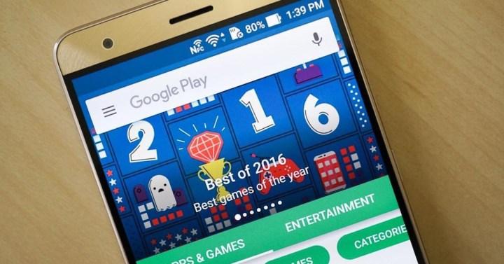 google play store en móvil