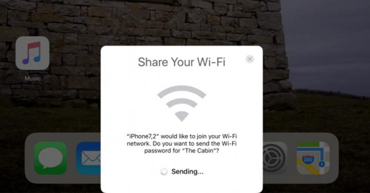 Compartir WiFi en iOS 11