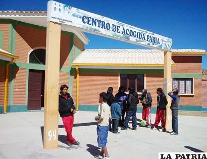 Resultado de imagen de centros de acogida de huérfanos en Oruro
