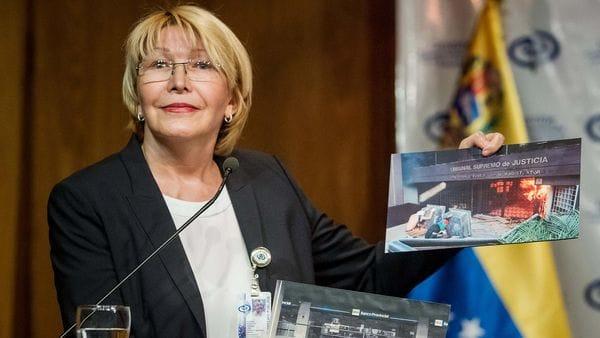 Fiscal general de Venezuela, Luisa Ortega, desafía a Maduro
