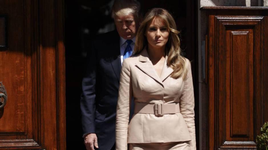 Melania y Donald Trump en una imagen de archivo. (Gtres)