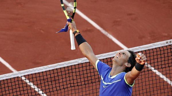 Rafael Nadal llora tras ganar su décimo 'Roland Garros'