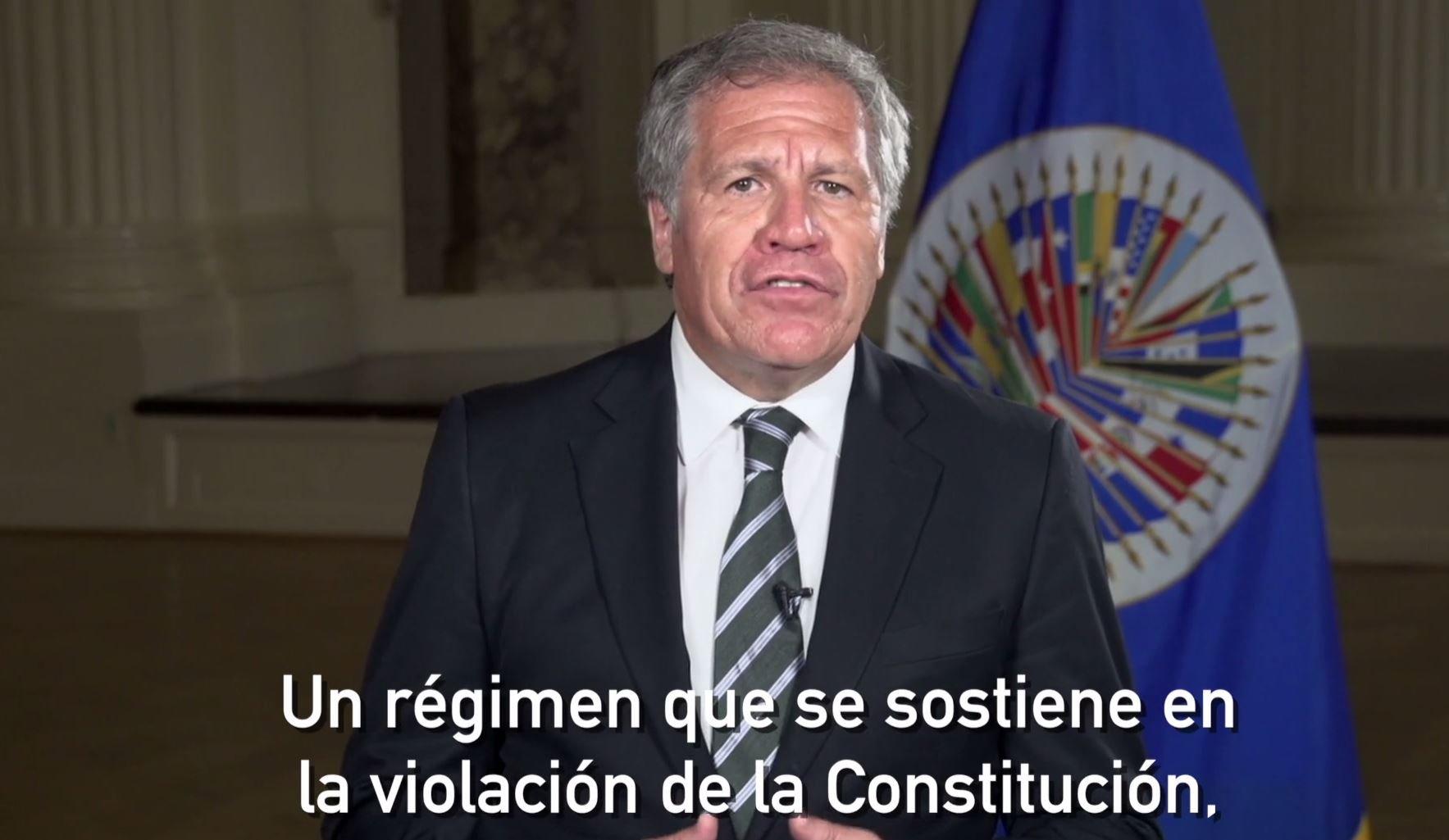 En Venezuela hay guerra civil contra personas desarmadas — Almagro