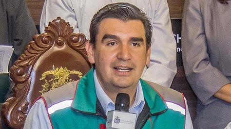 El alcalde José María Leyes