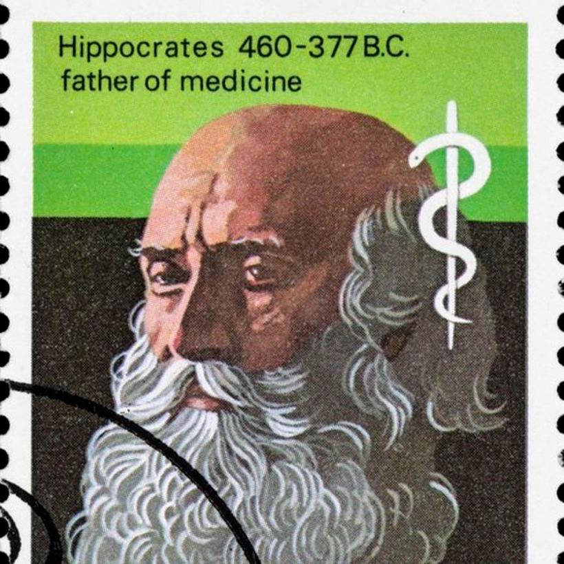 """Hipócrates, el """"padre de la medicina"""" planteó que las rupturas en el saco amniótico podían generar bandas y mutilaciones fetales. Foto: Getty Images"""