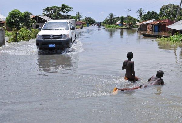 Lluvias en Nigeria / Imagen referencial / Reuters