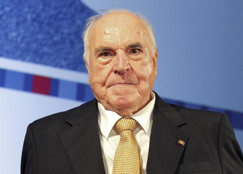 El excanciller alemán Helmut Kohl durante un acto en el museo Histórico Alemán de Berlín. Foto: Archivo EFE