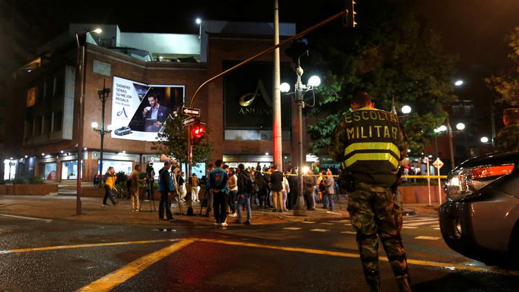 Se difunde un video grabado instantes después de la explosión en Bogotá