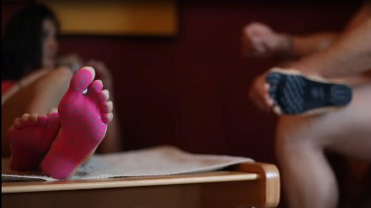 Con NakeFit podrás andar descalzo por cualquier superficie