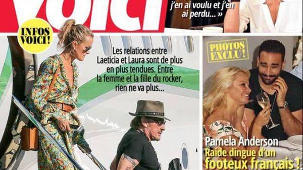 Pamela Anderson estaría de novio con el futbolista francés Adil Rami