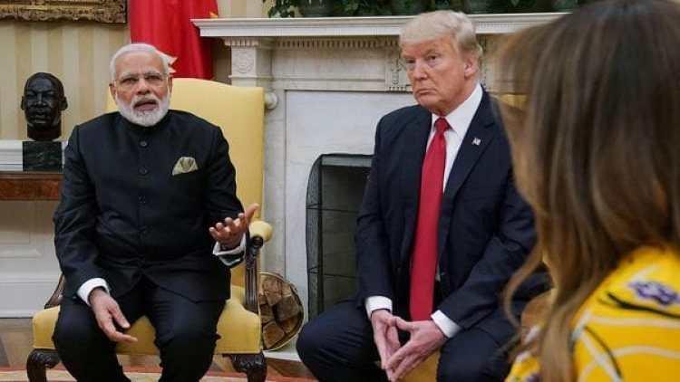 Trump mantuvo un encuentro privado con Modri (AFP)