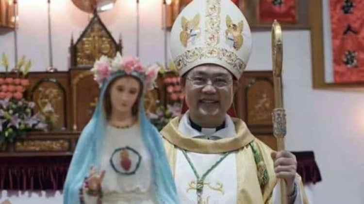 El arzobispo Pietro Shao Zhumin