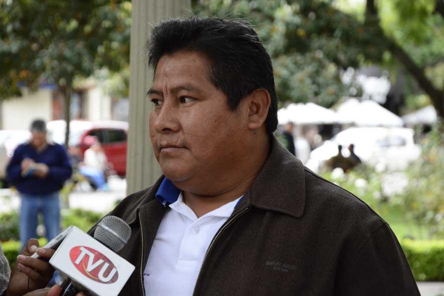 Resultado de imagen de El diputado del Movimiento Al Socialismo (MAS) de Tarija, Alex Mamani