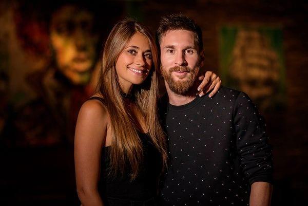 Beso de bodas de Messi y Antonela generó críticas