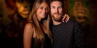 El primer beso de Lionel Messi y Antonela Roccuzzo como marido y mujer