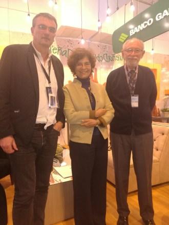 Dieter Schmidt, Gigia Talarico y Peter Lewy