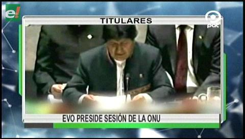 Video titulares de noticias de TV – Bolivia, noche del martes 6 de junio de 2017
