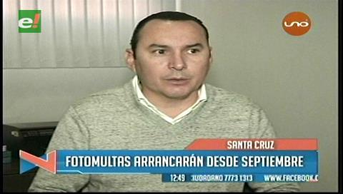 Santa Cruz: Las Fotomultas comenzarán en septiembre