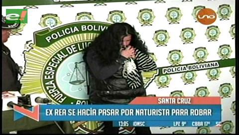 Policía captura a falsa naturista que dopaba a sus víctimas para robarles