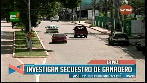 Investigan el secuestro de un empresario ganadero en Porvenir