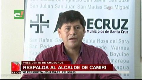 Amdecruz pide diálogo en Camiri y rechaza pedido de renuncia al alcalde