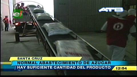 Ingenios garantizan abastecimiento de azúcar para mercados locales de Santa Cruz