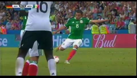 ¡Espectacular! Así fue el golazo de honor de México ante Alemania