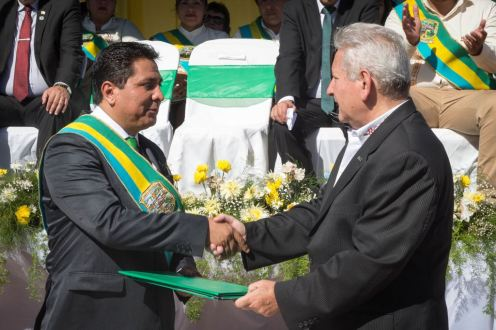 Moisés Salces y Rubén Costas