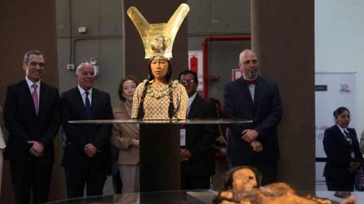 La reproducción de la mujer que gobernó Perú hace 1.700 años (EFE)