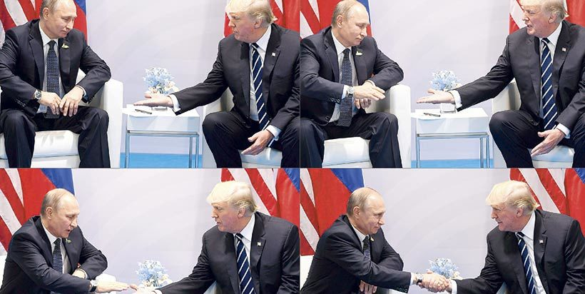 Las dos horas y 16 minutos del encuentro de Putin con Trump