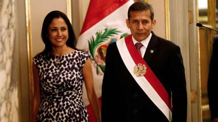 El ex presidente Ollanta Humala junto a su esposa, Nadine Heredia. (Reuters)