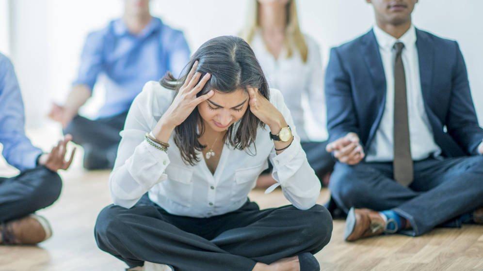 Foto: Plantear el problema en el trabajo puede ser desalentador. (iStock)