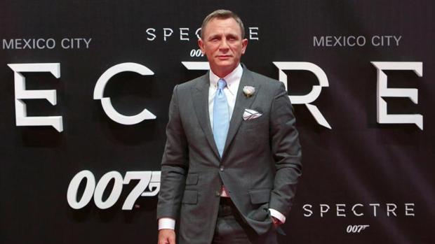 Daniel Craig durante la promoción de «Spectre» en México durante 2015