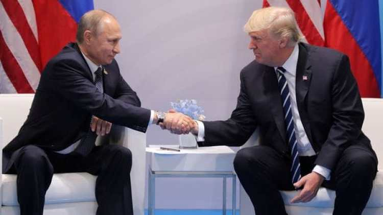 Donald Trump y Vladimir Putin mantuvieron una reunión durante el G-20(Reuters)