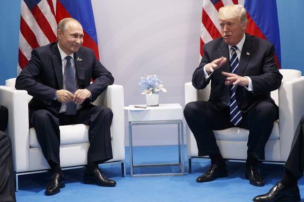 Trump reconoció que invitaría a Putin a la Casa Blanca
