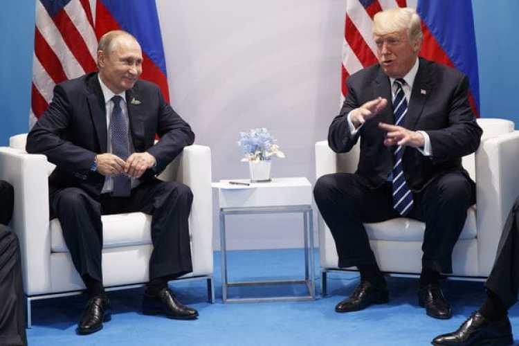 La reunión bilateral de Vladimir Putin y Donald Trump en Hamburgo