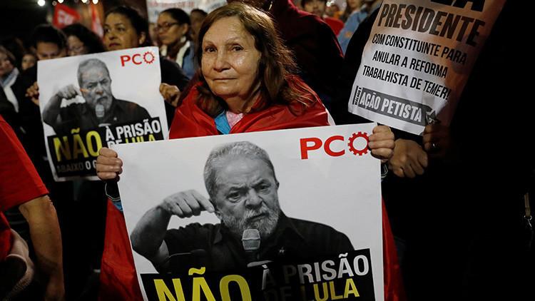 Primeras protestas en Brasil contra la condena del expresidente Lula da Silva
