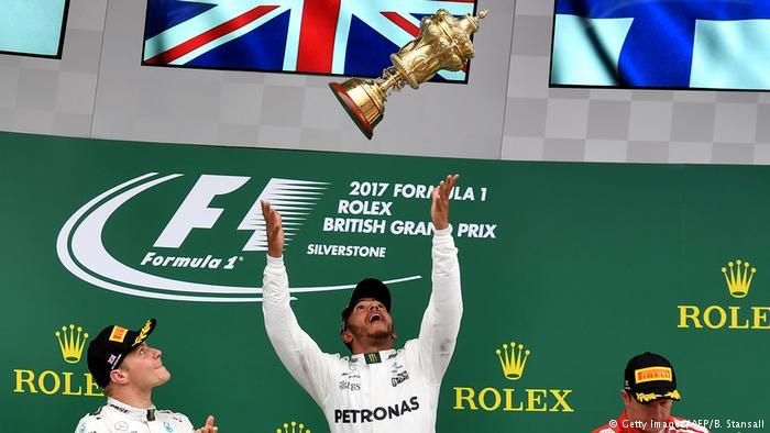 Formel 1 | Großer Preis von Großbritannien | Lewis Hamilton (Getty Images/AFP/B. Stansall)