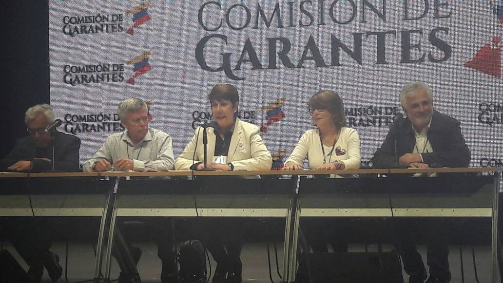 Los Garantes informaron sobre los resultados de la jornada. Foto: Eduardo Ríos / LaPatilla.com