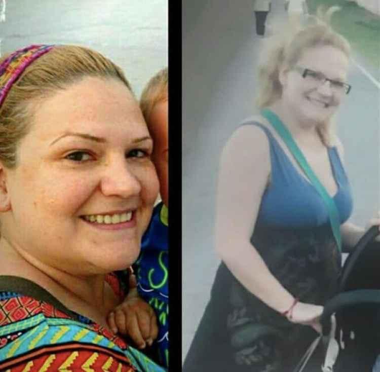 El día de su desaparición, Pilar llevaba el vestido azul con negro. (Foto: Facebook)