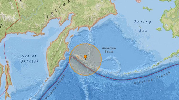 Alerta de tsunami tras un fuerte terremoto en el Lejano Oriente de Rusia