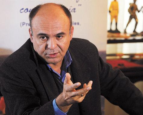 El ministro de Defensa de Bolivia, Reymi Ferreira.