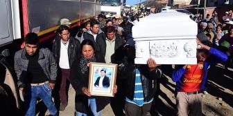 """Hallan """"canica"""" en cuerpo de comunario muerto; sigue bloqueo en vías Cochabamba-Santa Cruz"""