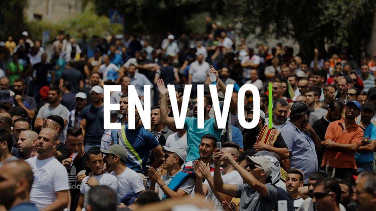 EN VIVO: Fuertes enfrentamientos en un puesto de control entre Cisjordania y Jerusalén