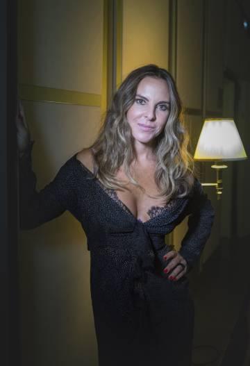 Kate del Castillo, en el hotel Palace de Madrid.