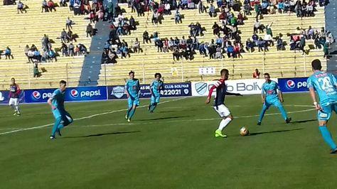 Una imagen del partido jugado en La Paz. Foto: @Marcas