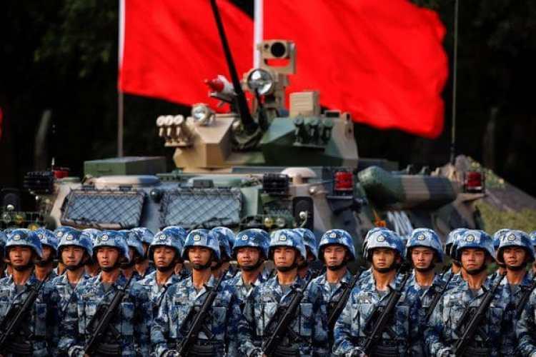 Tropas del Ejército Popular de Liberación de China(Reuters)