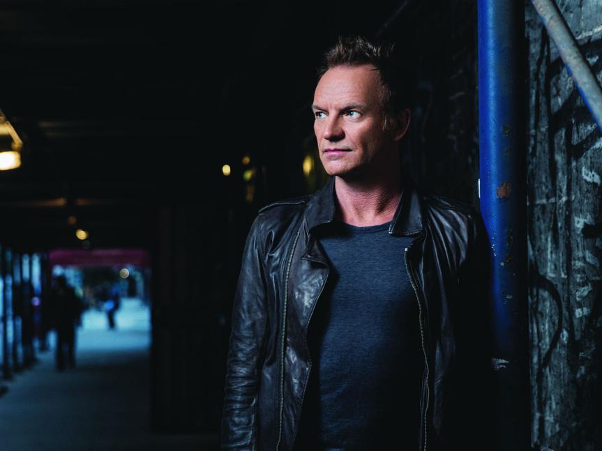 Vuelve el rock: Sting publica