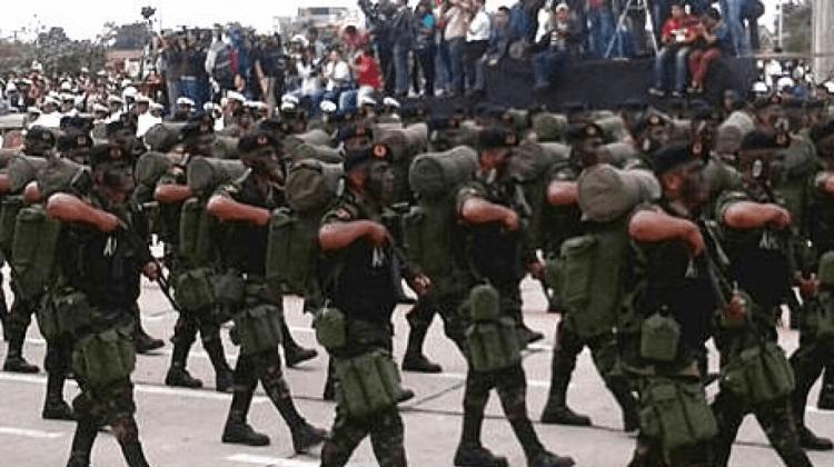 Parada militar ANF